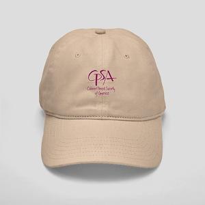 C P S A Cap (white Or Khaki)