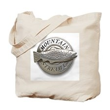 Pewter Mountain Stream Co log Tote Bag