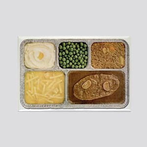 Salisbury Steak Tv Dinner Refrigerator Magnets