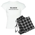 Religion: History Without F Women's Light Pajamas