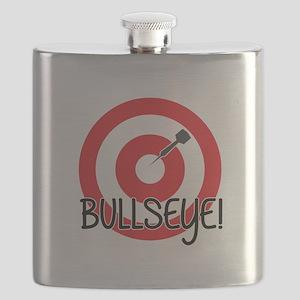 Bullseye Flask