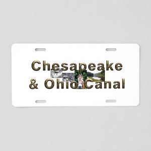 Abh C & O Canal Aluminum License Plate