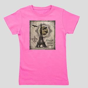 Modern vintage Halloween Eiffel Tower T-Shirt