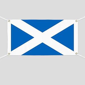 Scottish Flag Banner