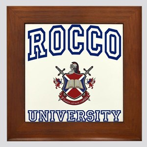 ROCCO University Framed Tile