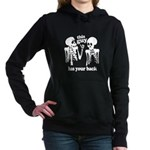 This Guy Has Your Back Women's Hooded Sweatshirt