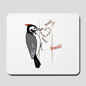 Woodpecker Mousepad