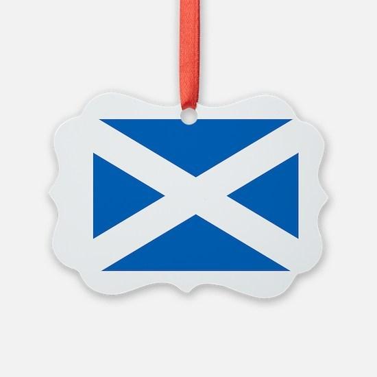 Scottish Flag Ornament