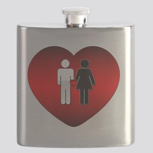 All Love Is Good Flask