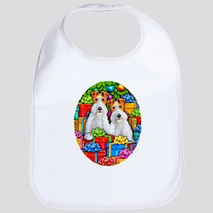 Wire Fox Terrier Open Gifts Bib