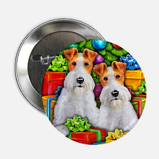 Wire Fox Terrier Open Gifts Button