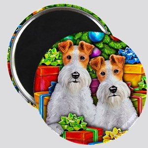 Wire Fox Terrier Open Gifts Magnet