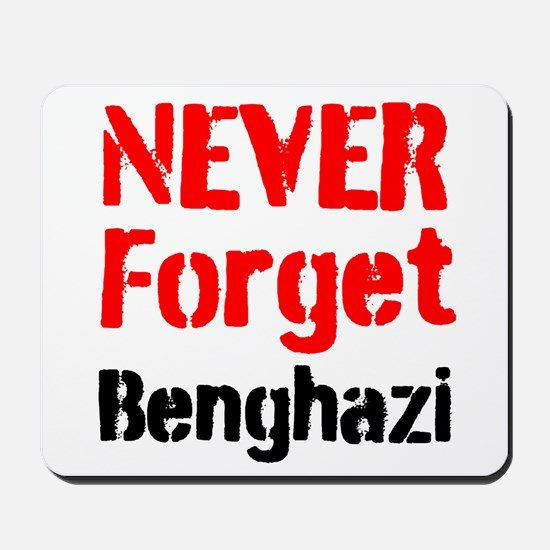 Never Forget Benghazi Mousepad