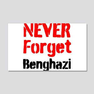 Never Forget Benghazi Wall Decal
