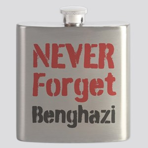 Never Forget Benghazi Flask