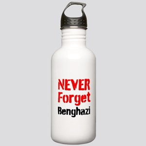 Never Forget Benghazi Water Bottle