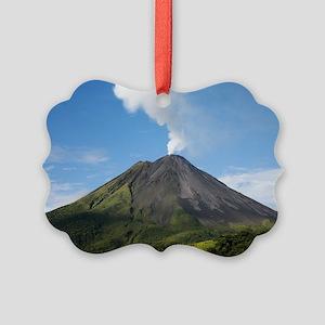 Arenal Volcano In Costa Rica Picture Ornament