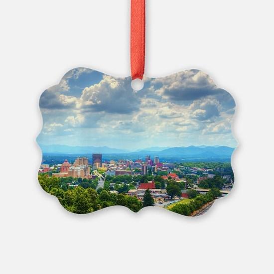 Asheville, North Carolina skyline Ornament