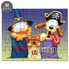 Garfield Trick Or Treat Puzzle