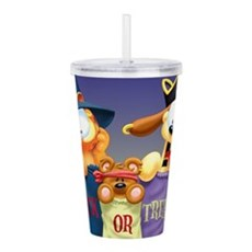 Garfield Trick Or Acrylic Double-Wall Tumbler