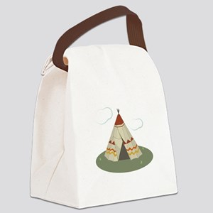 Teepee Tent Canvas Lunch Bag