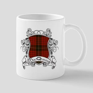 MacQueen Tartan Shield Mug