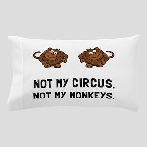 Circus Monkeys Pillow Case
