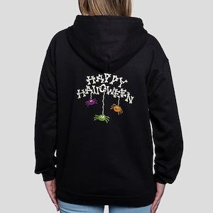 Happy Halloween Bones Women's Zip Hoodie