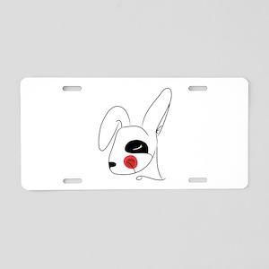 Chinese Rabbit Head Aluminum License Plate