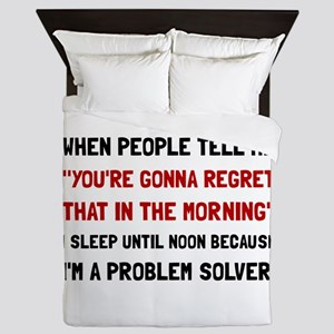 Problem Solver Queen Duvet
