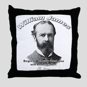 William James 04 Throw Pillow