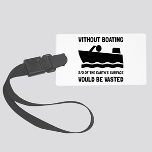 Without Boating Luggage Tag