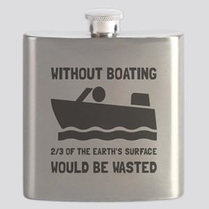 Without Boating Flask