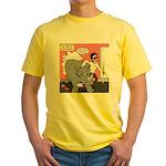 Rhino Helper Animal Yellow T-Shirt