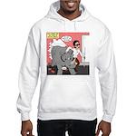 Rhino Helper Animal Hooded Sweatshirt
