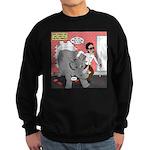 Rhino Helper Animal Sweatshirt (dark)