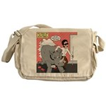 Rhino Helper Animal Messenger Bag