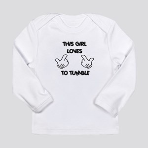 This Girls Loves to Tum Long Sleeve Infant T-Shirt