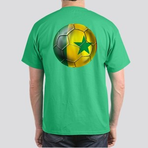 Senegal Football Dark T-Shirt