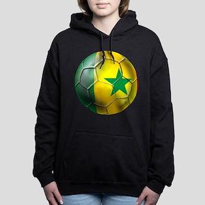 Senegal Football Women's Hooded Sweatshirt