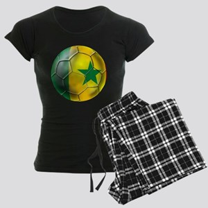 Senegal Football Women's Dark Pajamas