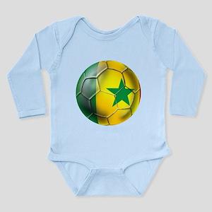 Senegal Football Long Sleeve Infant Bodysuit