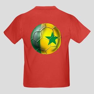 Senegal Football Kids Dark T-Shirt
