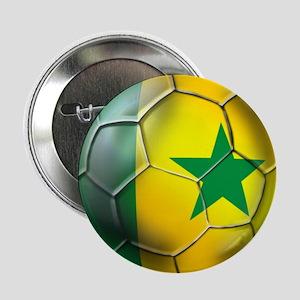 "Senegal Football 2.25"" Button"