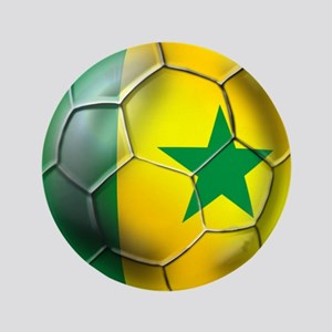 "Senegal Football 3.5"" Button"