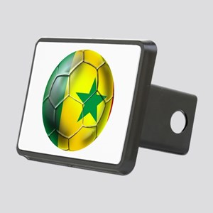 Senegal Football Rectangular Hitch Cover
