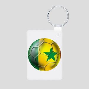 Senegal Football Aluminum Photo Keychain Keychains