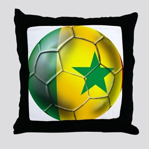 Senegal Football Throw Pillow
