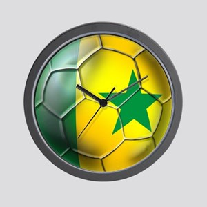 Senegal Football Wall Clock