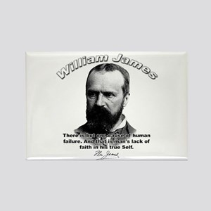 William James 05 Rectangle Magnet
